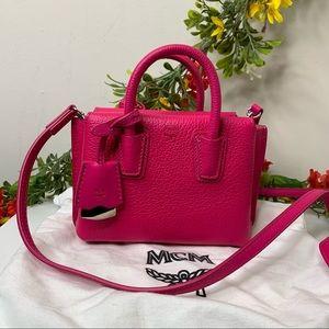 MCM Hot Pink X Mini Milla Satchel